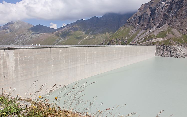 The Tallest Dams in Switzerland