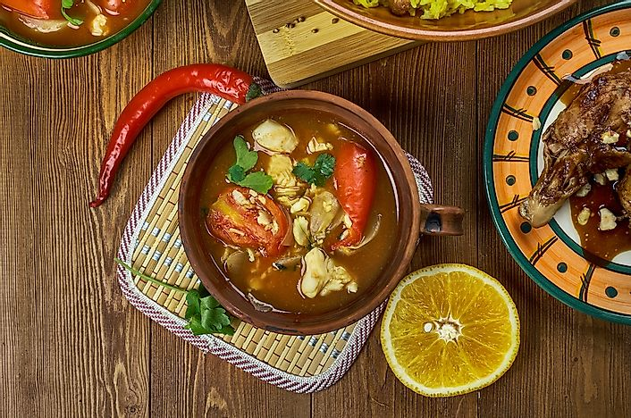 Traditional Omani fish soup.