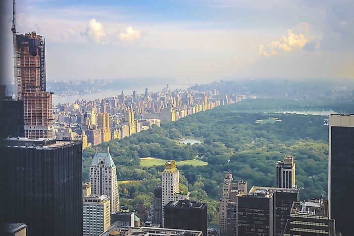 #3 New York City - The Greenest Cities in North America