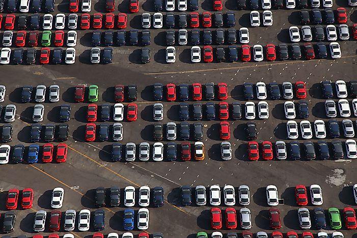 America's Largest Car Import Partners - WorldAtlas com