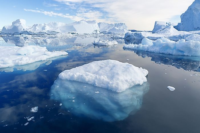 Where Are Icebergs Most Commonly Found?