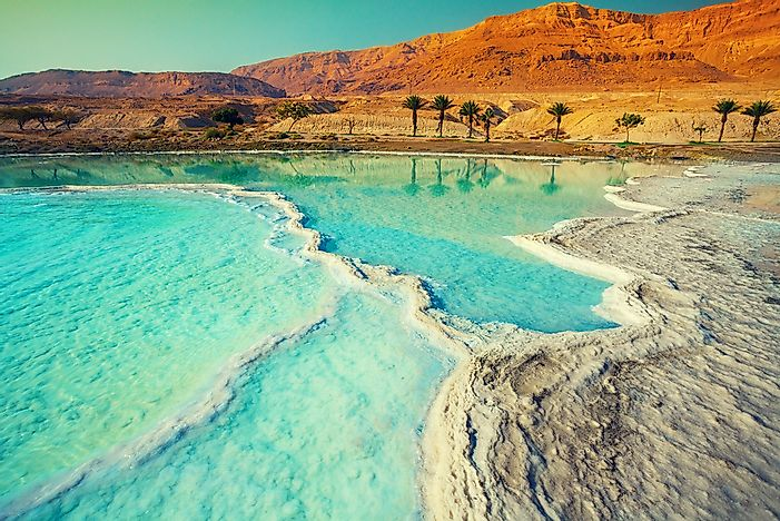 #5 Dead Sea, Israel and Jordan