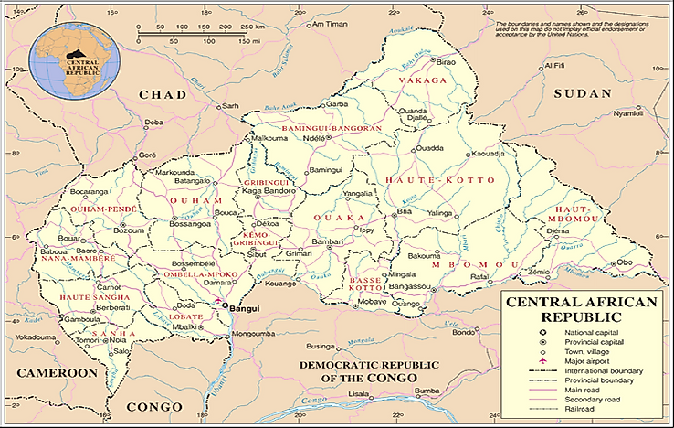 #10 Central African Republic -