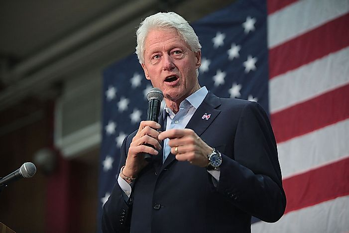 Bill Clinton, 42nd President Of The United States