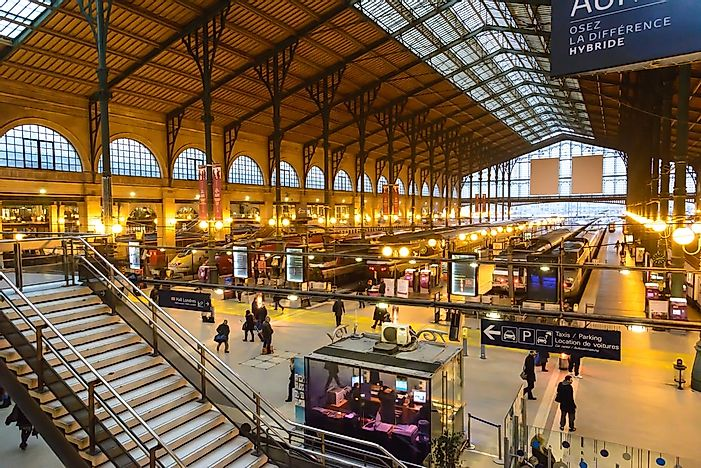 7 of the Busiest Train Stations in the World - WorldAtlas com