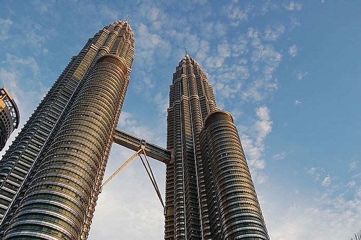The World's Tallest Standing Twin Towers