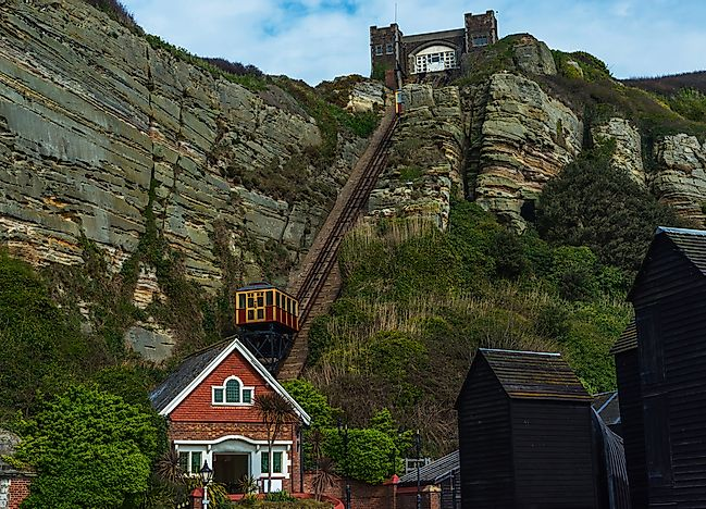 #1 Hastings Cliff Railway - Hastings, United Kingdom