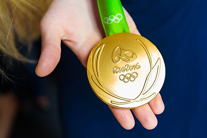 What Are Olympic Medals Made Out Of?