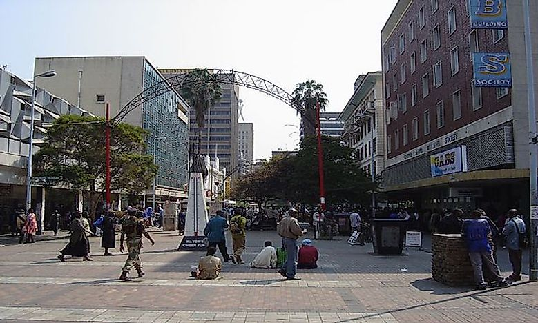 Biggest Cities In Zimbabwe