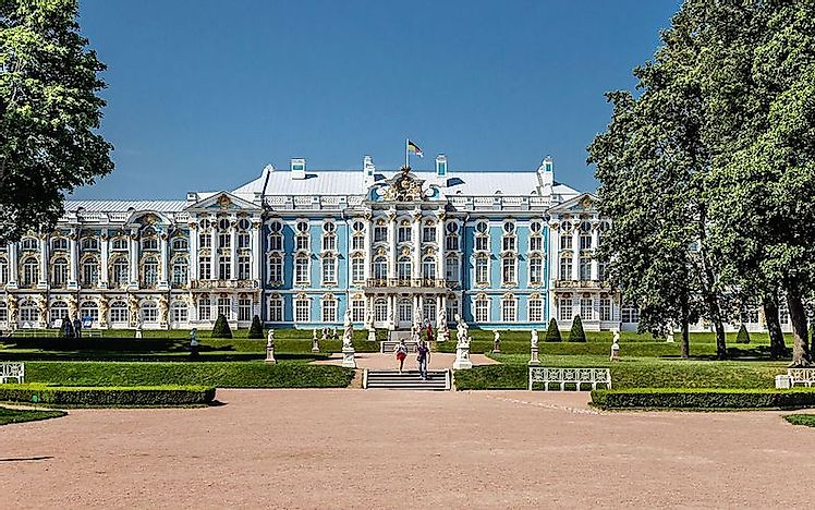 Catherine Palace: Summer Home of Russian Tsars