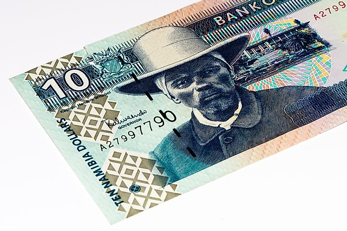 What is the Currency of Namibia?
