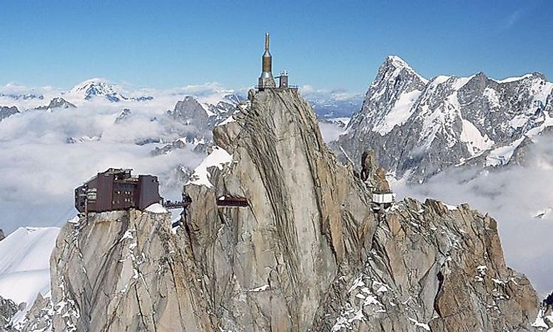 #9 Aiguille du Midi Skywalk, Chamonix, France -