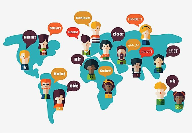 Language Families With The Highest Number Of Speakers WorldAtlascom - Language families of the world