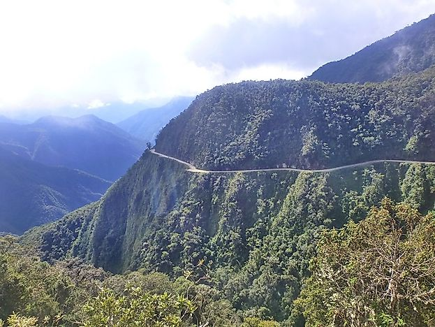 North Yungas Road - Bolivia's Treacherous Road Of Death