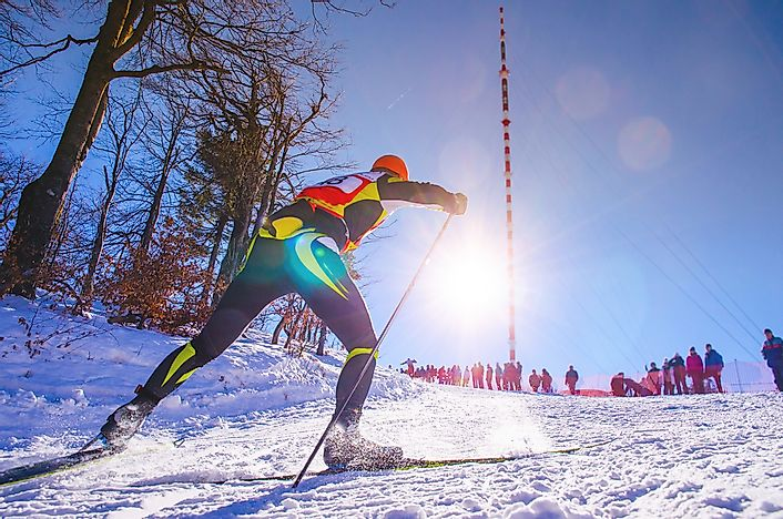 Winter Olympic Games: Cross-Country Skiing