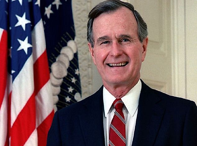 George H. W. Bush, 41st President Of The United States