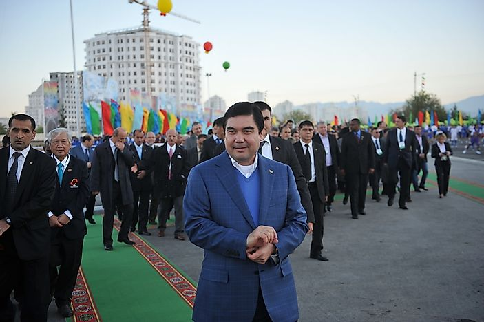List of Presidents of Turkmenistan