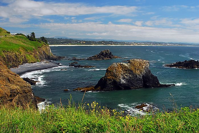 The Oregon Coast, Oregon.