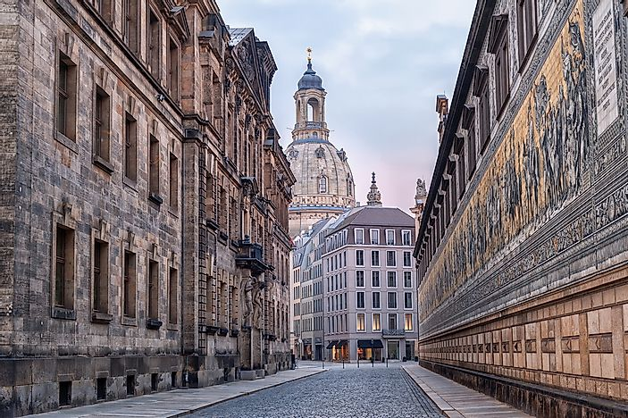 Dresden, the capital of Saxony.