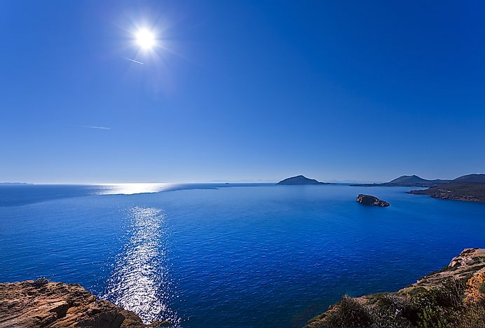 Who Is The Aegean Sea Named After?
