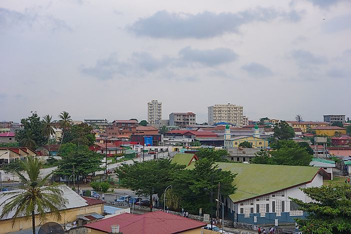 Editorial credit: alarico / Shutterstock.com. A view of the city of Bata, Equatorial Guinea.
