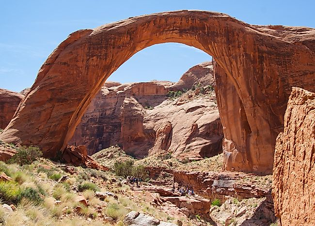 Rainbow Bridge National Monument Map