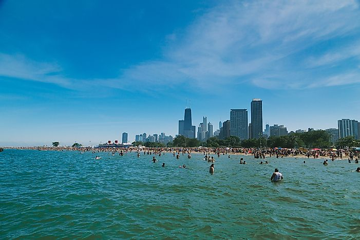 #1 Swimming in Lake Michigan