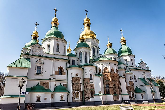 Saint Sophia Cathedral, Kiev.