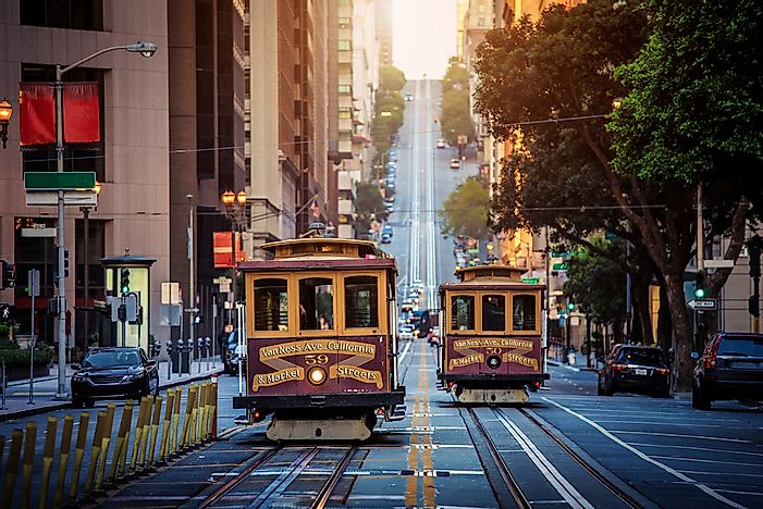 #10 San Francisco, California - 25 million visitors