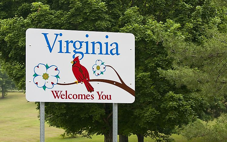 Which States Border West Virginia?