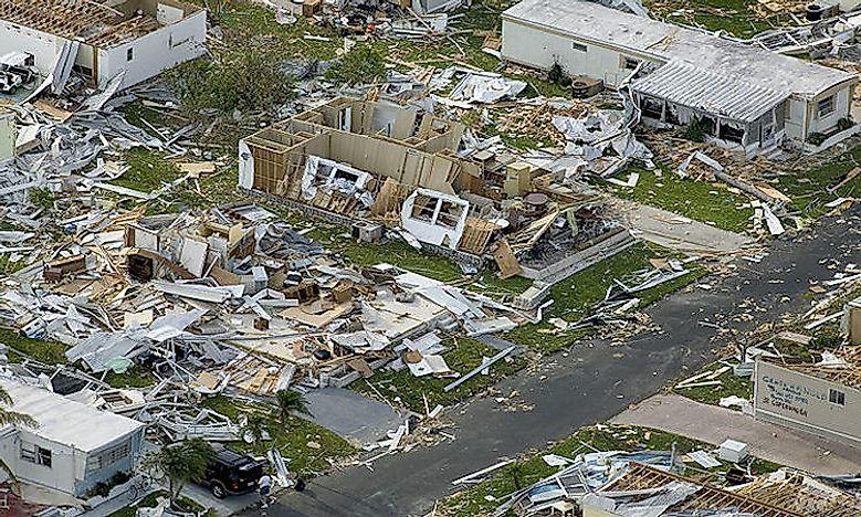 Categories Of Hurricanes Worldatlas Com