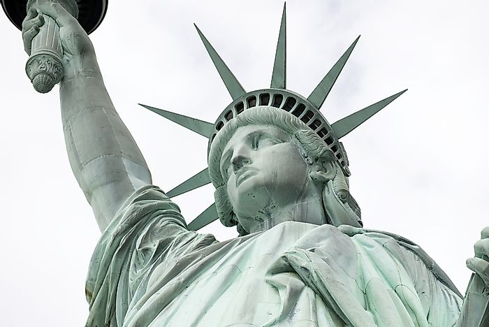 #4 The Statue of Liberty represents Libertas, the Roman Goddess