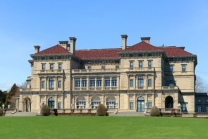 #7 Breakers Mansion - Newport, Rhode Island
