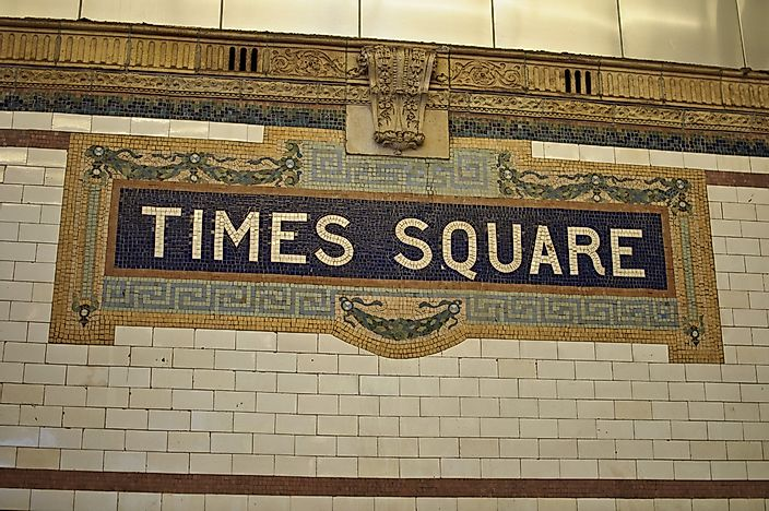 The History of Times Square