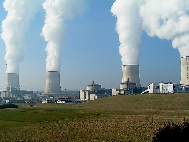 20 Countries Most Dependent On Nuclear Energy