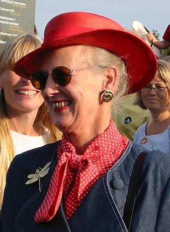 #7 Margrethe II of Denmark - 44 Years, 7 Days