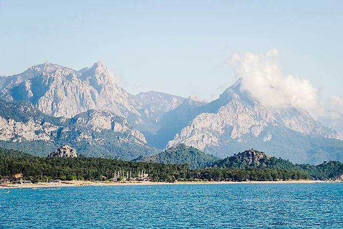 Where Are The Taurus Mountains Worldatlascom