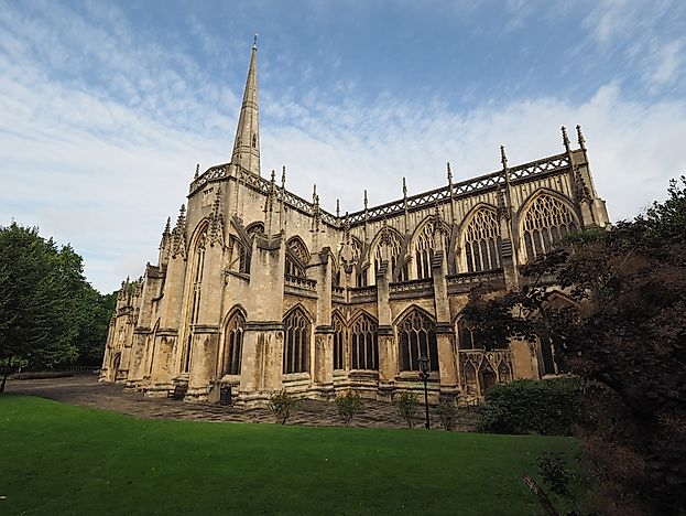#1 The Parish Church of St. Mary Redcliffe