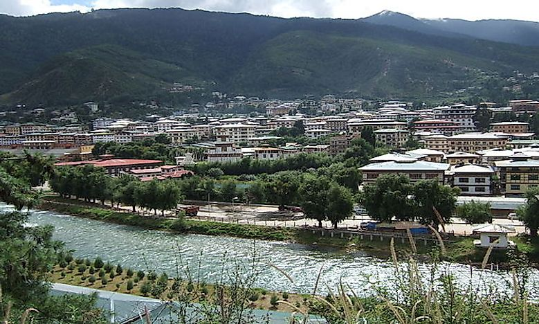 Biggest Cities And Towns In Bhutan