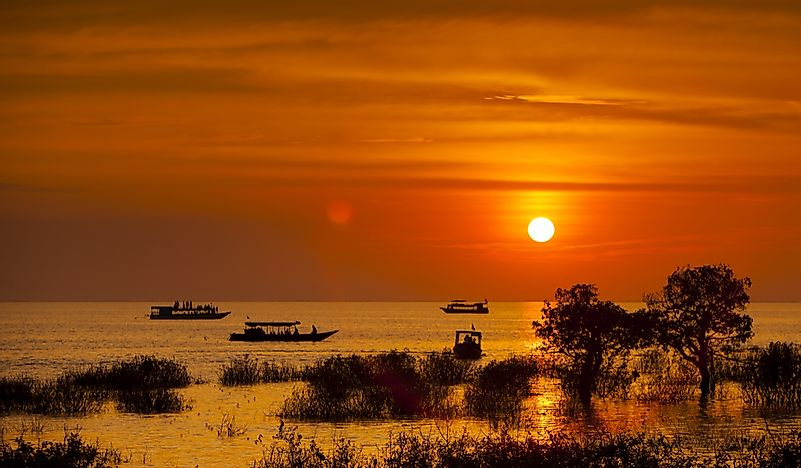 Which Is The Largest Freshwater Lake In Southeast Asia?