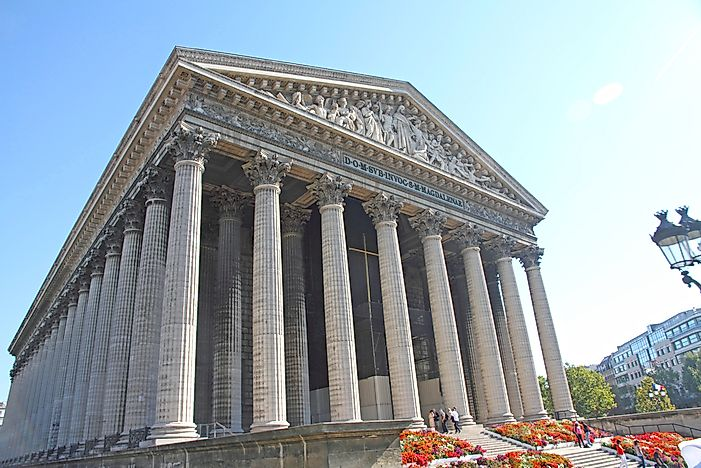 architectural buildings in the world. Architectural Buildings Of The World: La Madeleine In World R
