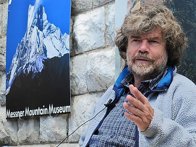 World Records Set By Reinhold Messner