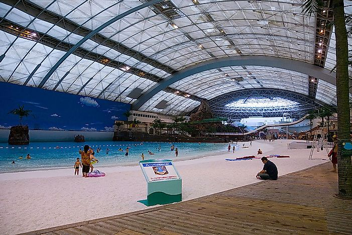 The largest swimming pools in the world for Largest swimming pool in the us