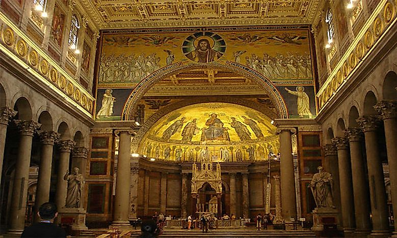 #1 Papal Basilica of Saint Paul outside the Walls -