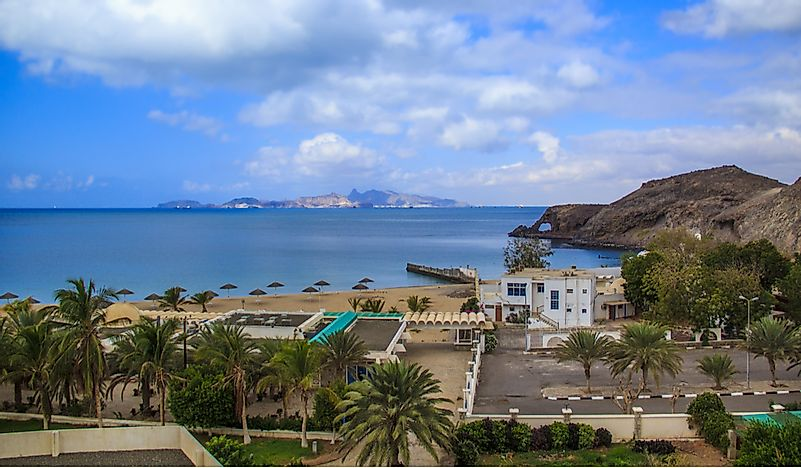 Where is the Gulf of Aden? - WorldAtlas com