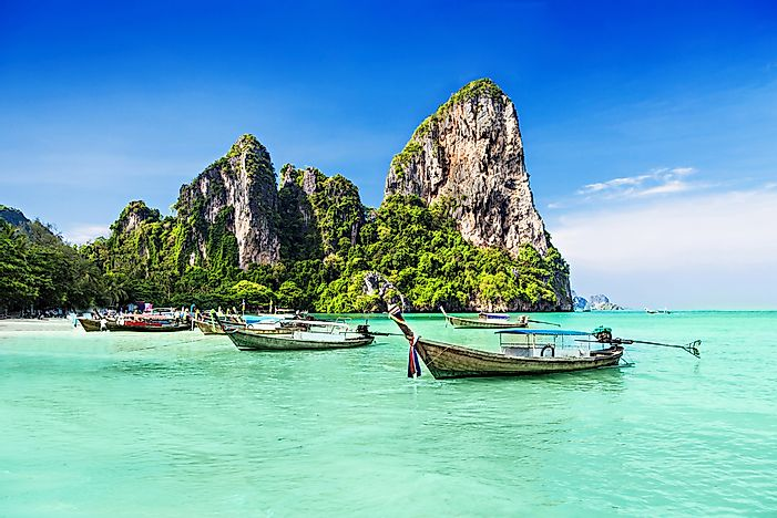 The amazing sights of Thailand.