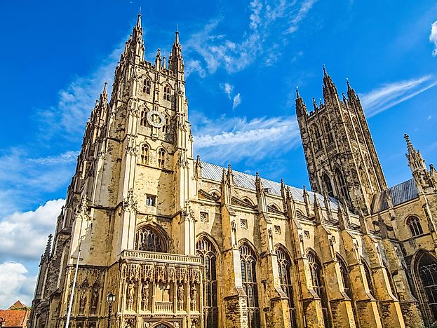 #5 Canterbury Cathedral