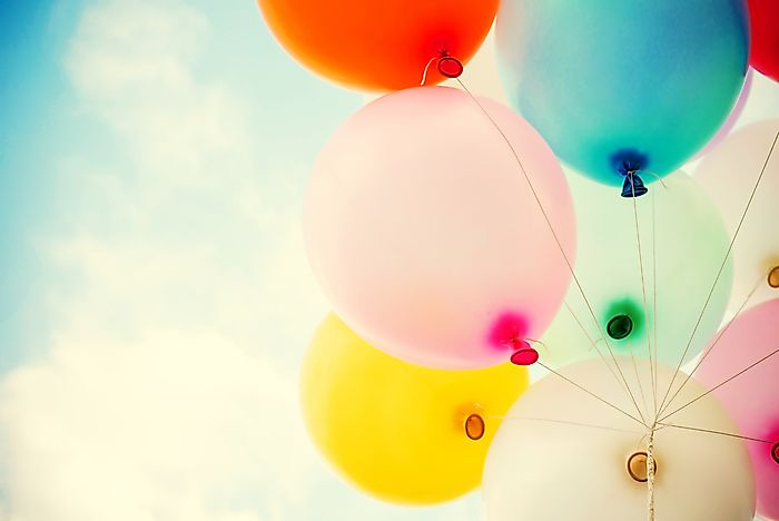 #12 Globophobia (Fear of Balloons)