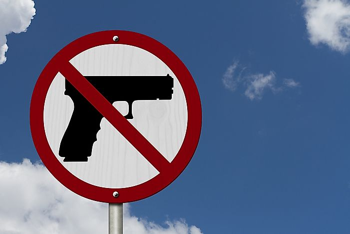 5 Countries With Strict Gun Control Laws