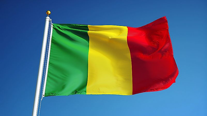 Image result for Mali flag